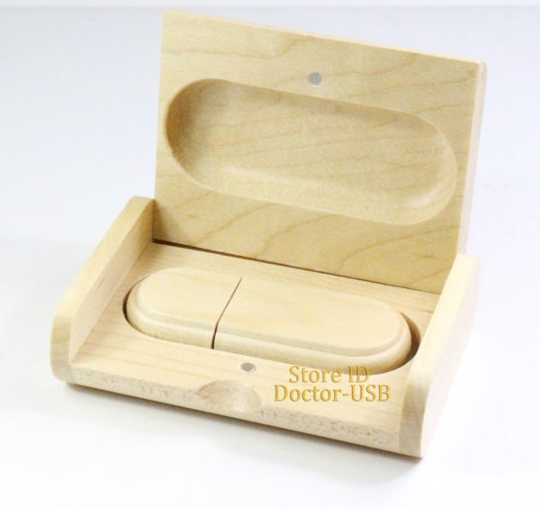 wooden box for usb