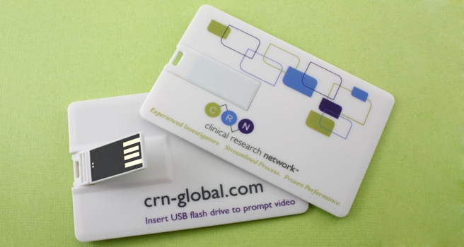 promotional business card usb flash drive
