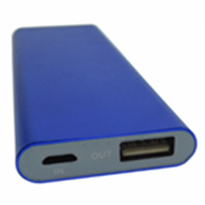 Power bank with logo